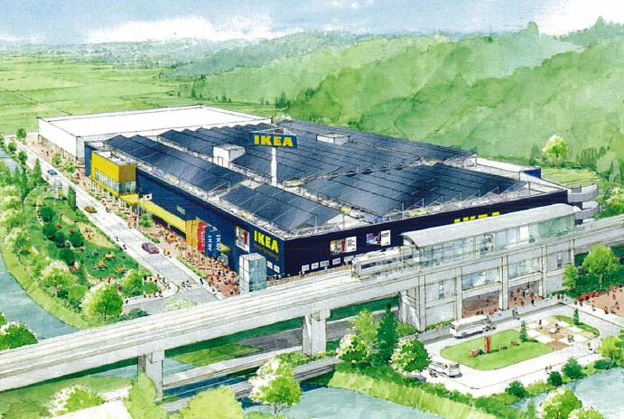 IKEA 長久手 ホームステージング